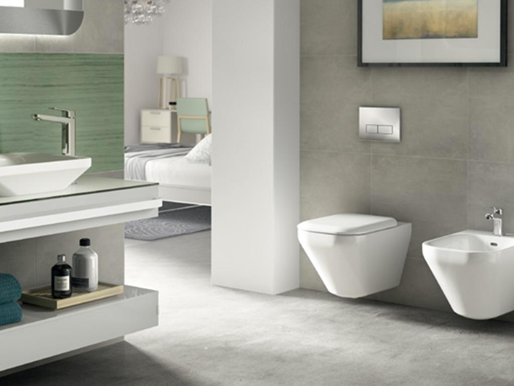 ideal standard dea ceramiche esagono. Black Bedroom Furniture Sets. Home Design Ideas